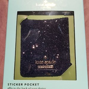 Kate Spade Sticker Pocket for Cell Phone.